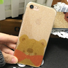 Pooh Bear shiny Phone Case Back Cover Case For iPhone 7 7plus