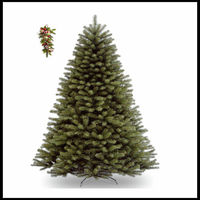 Artificial Christmas Fir Tree 5ft 152 / 150cm PE Tips Premium Xmas