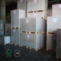 Korea Stiffness equal One Side Coated Duplex Board Stocklot