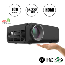 Most popular 2000 lumens RoHS native 1920x1080 full hd 4k led projector 1080