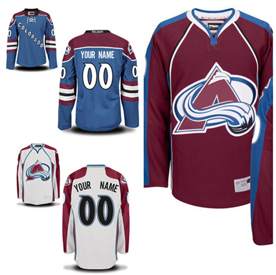 Colorado Avalanche Jersey Hockey 2016 Stadium Series 9 Matt Duchene 19 Joe Sakic 29 Nathan MacKinnon 33 Roy 92 Gabriel Landeskog