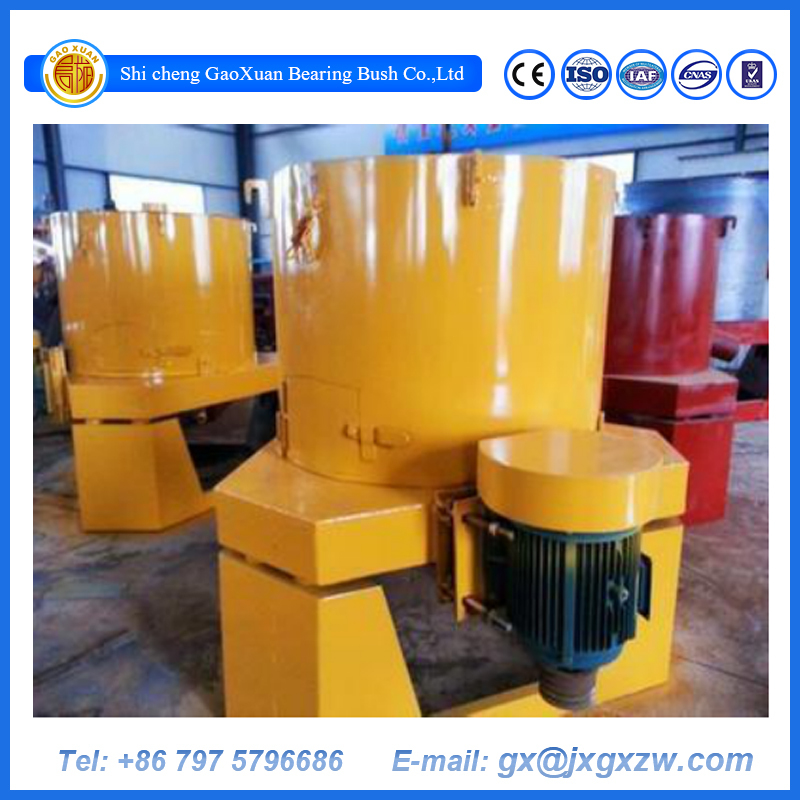 Gold recovery concentrator for placer gold centrifugal concentrator wash plant