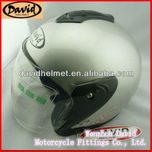 David classic open face helmet in abs material D001