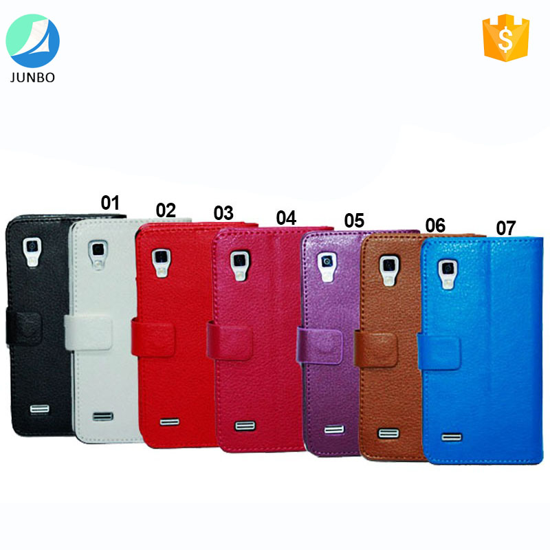 New premium flip cell phone case pu leather case for LG Optimus L9
