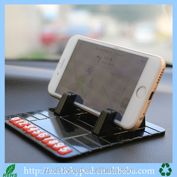 Silicone Pad Dash Mat Car Mount Holder Cradle Dock For Smartphones