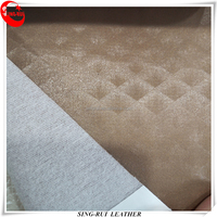 PVC Synthetic Furniture Leather Materials For