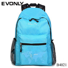 B4021 2018 New Design High Middle Class Student Teens Canvas School Bag