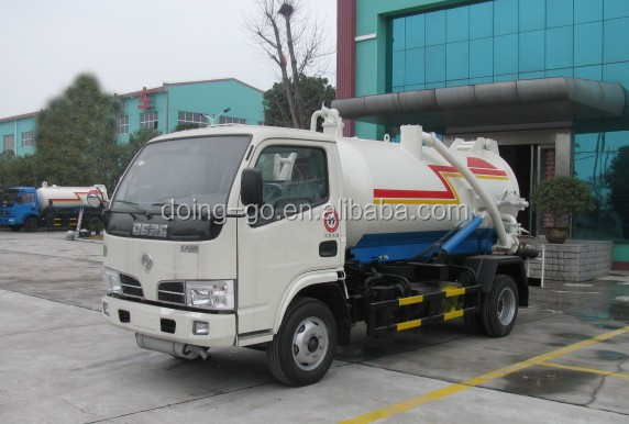Kenya/Tanzania/Zambia RHD 3000 Liters Sewage Vacuum Suction Truck Manufacturer, Used Septic tank truck for sale