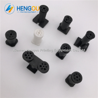 Available xmhengou offset Printing Machine Spare Parts black plastic sucker strong suckers