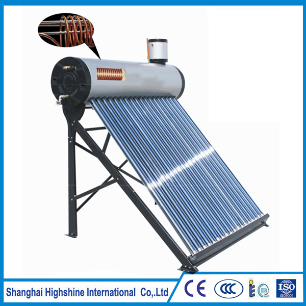 New fashionable stylish pre-heating soalr water heater Pre-heated Solar Water Heater with Copper Coil