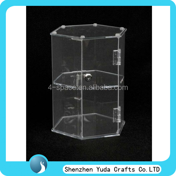 floor standing acrylic display cabinet free standing glass display cabinet acrylic cabinet wholesale lockable case