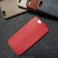 China Manufacturer Hot Red Zebra Pattern PU leather phone Case for Samsung S6 Edge, for samsung s6 edge case