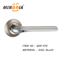 Wenzhou factory new model zinc alloy door handle for wooden do