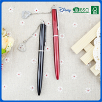 Japanese 2 color metal ball pen with Widget