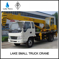 LAKE High Quality Small Truck Mounted Crane For Construction