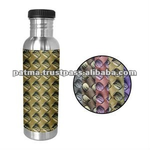 Stainless Steel Bottle with Fabric