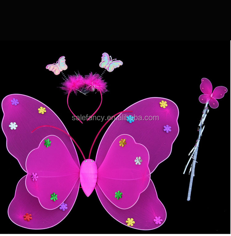 Carnival Costume butterfly wings dresses wholesale fairy party Wings QFW-8035