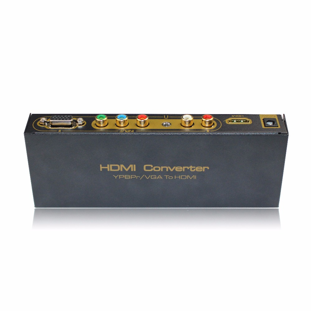 Hot Saling S-video Vga Rca To Hdmi Converter/vga/ypbpr To Hdmi Converter