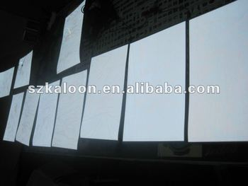 hight brightness white EL panel thin paper el flasing backlight panel sheet