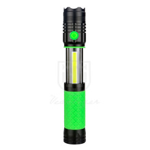 LED Aluminum Flashlight 250 Lumens COB/SMD Work Light Magnetic Base Worklight