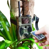 Motion Detection SMS Control MMS GPRS Infrared Waterproof Hunting Trail Camera HC300M