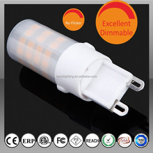 super brightness High quality 2.3W 3W 4.5W 5W G9 Bulb LED with ETL,SAA,TUV's CE