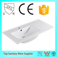 made in china single sink bathroom vanity tops