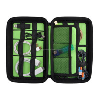 Portable EVA Hard Drive Case / Cable Organizer / Electronics Accessories Travel Organizer