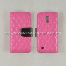 Samsung S4 mini i9190 phone cases fashionable lady wallet style with card slot