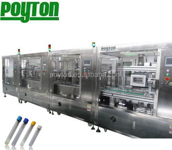 standard blood collection tube machinery