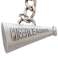 Logo Custom Metal Cheer Leader Megaphone
