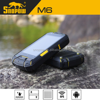 Snopow M6 IP68 waterproof phone with physical button 3.5 inches android 4.0.3 gps tv wifi 3g cell phone n8000