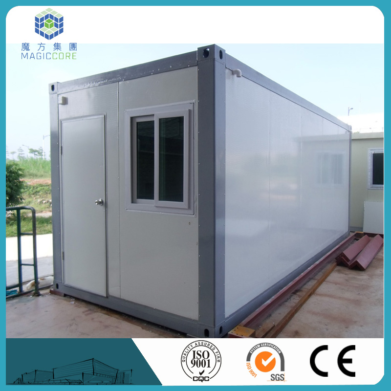 construction site use container comforable house color steel sandwich panel mobile container shop