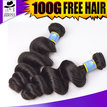 KBL hot sale high grade loose wave virgin human hair extensions florida