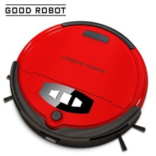 GOOD ROBOT 740C red best sale robotic vacuum cleaner intelligent cleaners