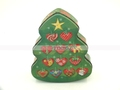 High Quality Christmas Tree shape Tin Box for Gift Chocolate Candy