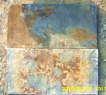 New cheap rusty slate honed bush-hammered floor chinese slate supplier
