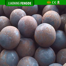 Wear Resistant Cast Steel Iron Ore Grinding Ball for Ball Mill