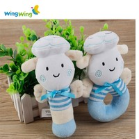 Alibaba Wholesale hot soft baby rattle child toys supplier