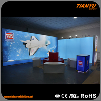 Affordable Price 100% Good Feedback Custom Design Trade Show Light Up Displays Exposure System Booth