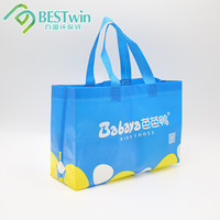 BSCI SGS Audit factory Recycle Reusable PP Laminated Non Woven Tote Bags shop online