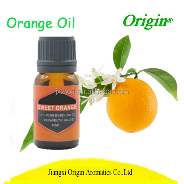 Origin factory supply bulk sale healthy products high quality edible orange essential oils with private label