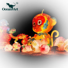 OA J8527 High Quality Chinese Lantern Festival Decoration for wedding