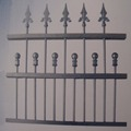 High performance new house used wrought iron fencing for sale