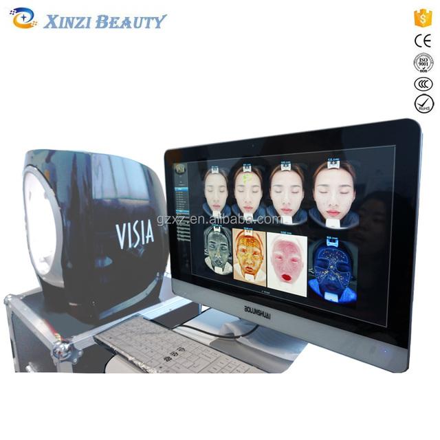 Face Visia Skin Analyzer Machine Skin Analysis Magnifier Beauty Machine