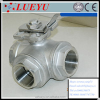 Stainless Steel 3 way Ball Valve Manufacture