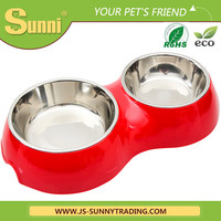Cheap personalized travel dog bowl