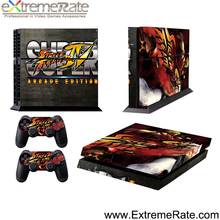 Skin set for ps4 sticker decal faceplate GCPP0233