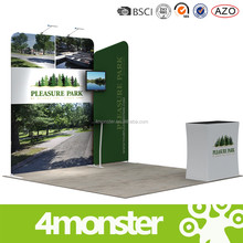 OEM advertising elegant design aluminium profile exhibition booth