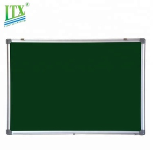 School or office good writing surface magnetic green chalk board